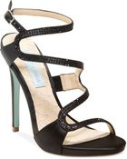 Betsey Johnson Blue by Gift Evening Sandals - Lyst