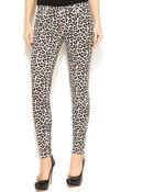 Michael Kors Michael Skinny Leopard-Print Pants - Lyst
