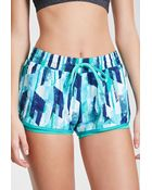 Forever 21 Abstract Print Running Shorts - Lyst