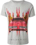 Philipp Plein Graphic Print T-Shirt - Lyst