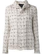 Lanvin Tweed Jacket - Lyst