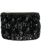 H&M Sequin-Embroidered Clutch - Lyst