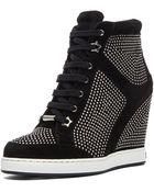 Jimmy Choo Panama Wedge Sneaker - Lyst