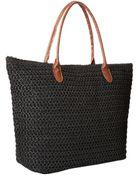 San Diego Hat Company Bsb1352 Crochet Paper Straw Bag - Lyst