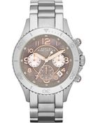 Marc By Marc Jacobs Women'S Chronograph Rock Stainless Steel Bracelet 40Mm Mbm3250 - Lyst