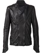 Julius Double Zip Fitted Jacket - Lyst