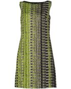 Elie Tahari Short Dress - Lyst