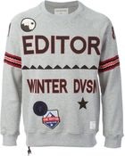 The Editor Embroidered Sweatshirt - Lyst