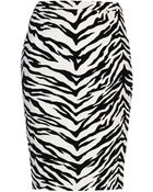 Moschino Knee Length Skirt - Lyst