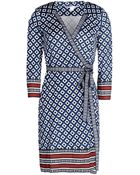 Diane von Furstenberg Tallulah Silk Wrap Dress - Lyst