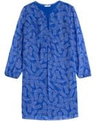 Diane von Furstenberg Aria Silk Tunic Dress - Lyst