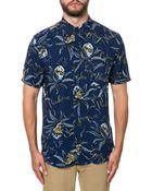 Insight The Going Nowhere Ss Buttondown Shirt - Lyst