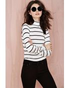 Nasty Gal Je Ne Sais Quoi Knit Turtleneck - Lyst