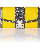 Matthew Williamson Ruby Continental Leather Wallet - Lyst