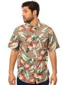 Huf The Birds Of Paradise Buttondown Shirt - Lyst