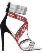 Aquazzura The Queen Sandals - Lyst