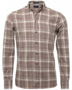 Gant Twill Check Shirt - Lyst