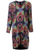 Zero + Maria Cornejo Printed Shift Dress - Lyst