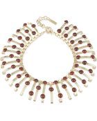 Etro Jewelled Collar Necklace - Lyst