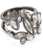 Alexis Bittar Miss Havisham Moonlight Marquis Cluster Band Ring - Lyst