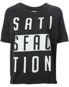 Zoe Karssen Satisfaction Print Sweatshirt - Lyst