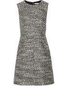Diane von Furstenberg Carpreena Tweed Mini Dress - Lyst