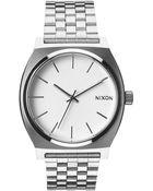 Nixon Time Teller White Watch - Lyst