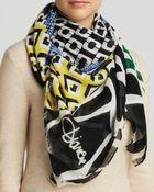 Diane von Furstenberg Vintage Patchwork Scarf - Lyst