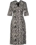Antonio Berardi Knee-Length Dress - Lyst
