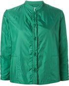 Aspesi Mandarin Collar Jacket - Lyst