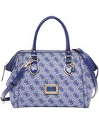 Guess Reama Frame Satchel - Lyst