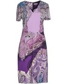 Etro Knee-Length Dress - Lyst
