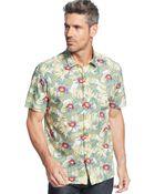 Tommy Bahama Redrock Floral Shirt - Lyst