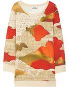 Acne Studios Avedon Printed Cotton Top - Lyst