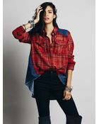 Free People We The Free Roadtrip Flannel - Lyst