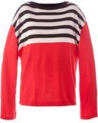 Acne Studios Striped Sweater - Lyst