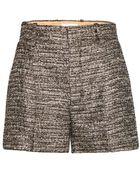 Chloé Metallic Shorts - Lyst