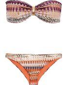 Missoni Metallic Crochet-Knit Bikini - Lyst