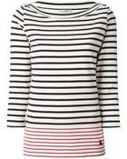 Burberry Brit Striped T-Shirt - Lyst