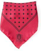 Dolce & Gabbana Polka Dot Pocket Square - Lyst