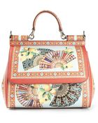 Dolce & Gabbana 'Sicily' Tote - Lyst