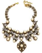 Erickson Beamon Stratosphere Necklace - Pearl Multi - Lyst