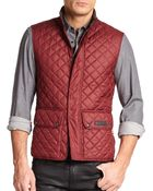 Belstaff Technical Quilted Vest - Lyst