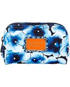 Marc By Marc Jacobs Aki Floral Cosmetic Bag - Lyst