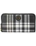Tory Burch Cotton Robinson Wallet - Lyst