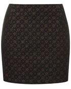 Topshop Brodery Fleck Pelmet Skirt - Lyst