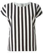 Dolce & Gabbana Striped Top - Lyst