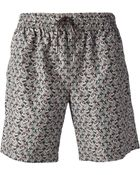 Dolce & Gabbana Car Print Swim Shorts - Lyst