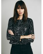 Free People Womens Step To The Back Top - Lyst
