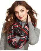 Collection Xiix Christmas Printed Infinity Loop - Lyst